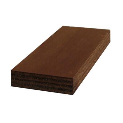 Il nuovo negozio online per legno su misura - Compensato pioppo impregnato noce scuro