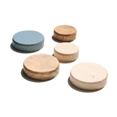 Il nuovo negozio online per legno su misura - Tappi copri vite di Abete naturale noce chiaro noce scuro grigio bianco